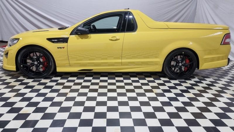 Holden HSV GTSR W1 yellow