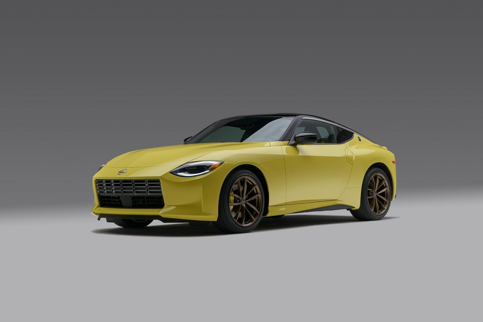 Ikazuchi Yellow 2022 Nissan Z