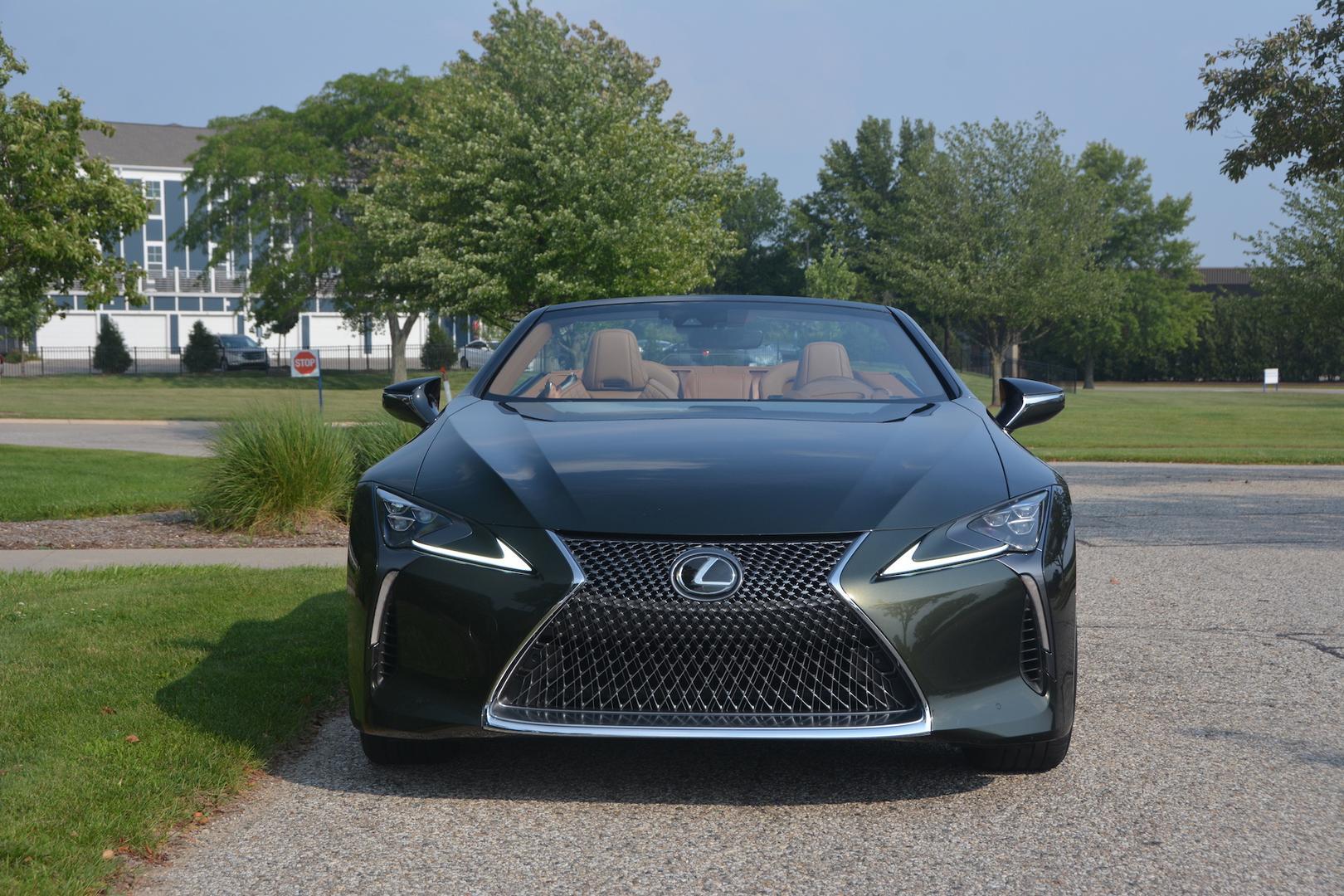 Lexus LC 500 Convertible front