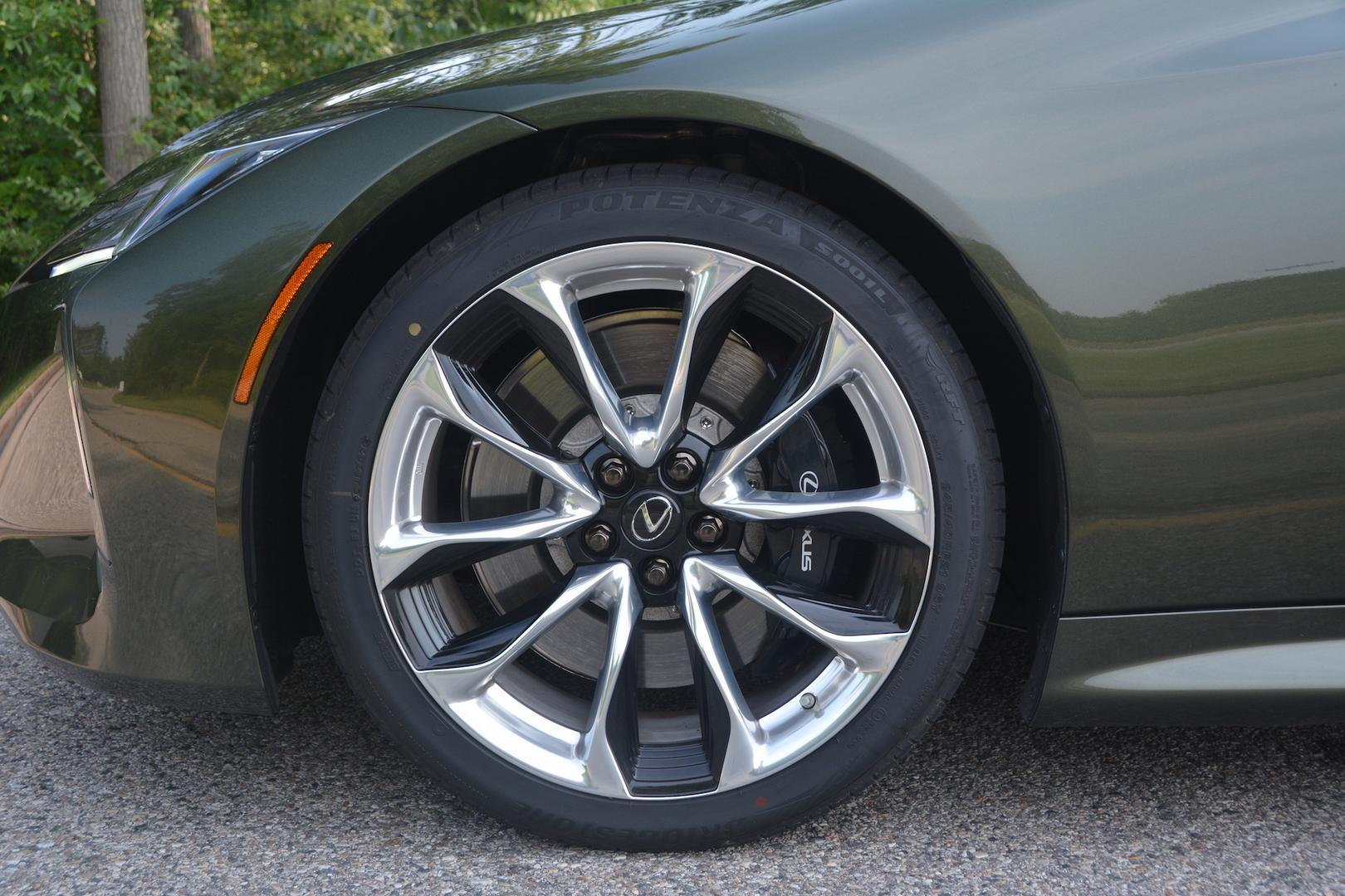 Lexus LC 500 Convertible wheels