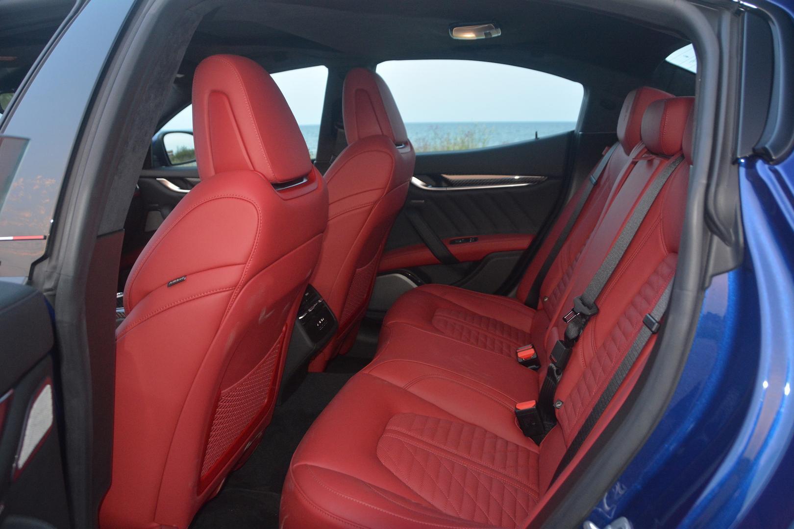 Maserati Ghibli Trofeo red leather