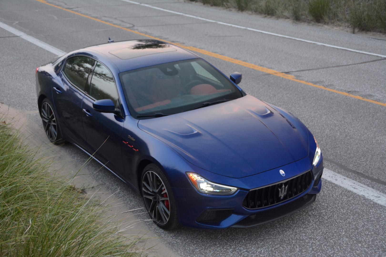 Maserati Ghibli Trofeo review