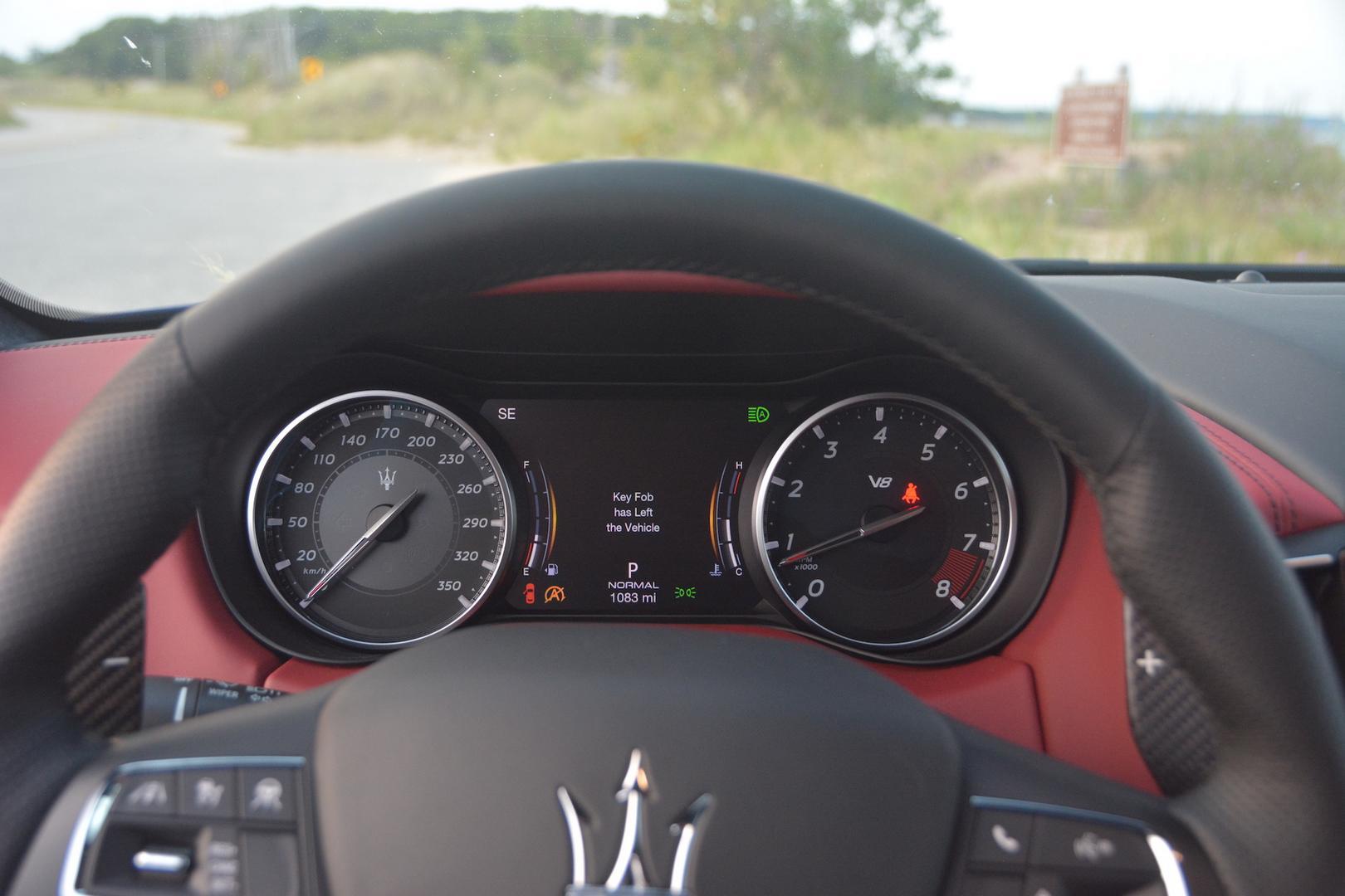 Maserati Ghibli Trofeo speedo