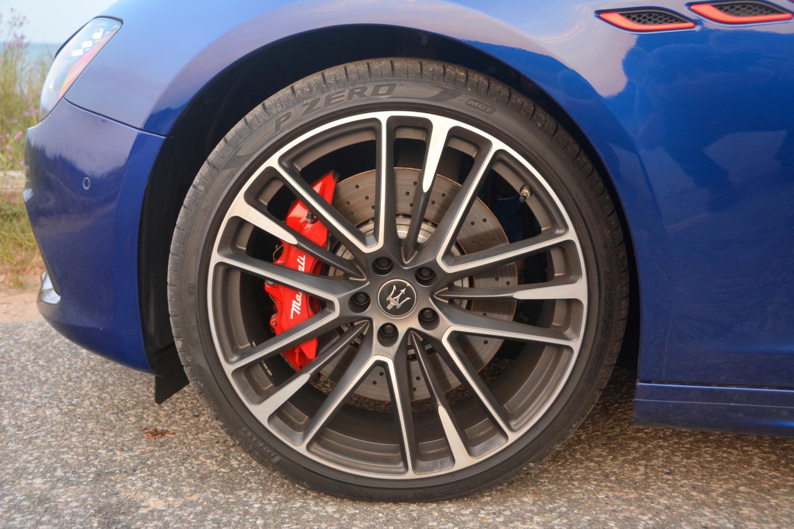 Maserati Ghibli Trofeo wheels