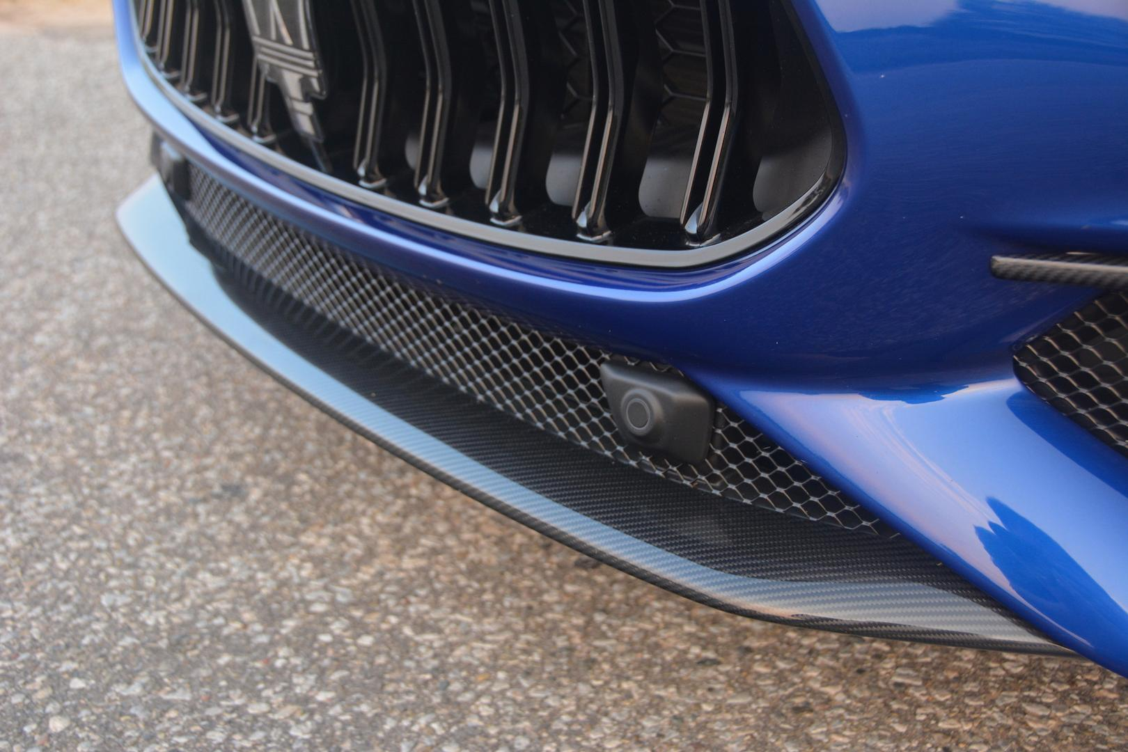 Maserati front splitter