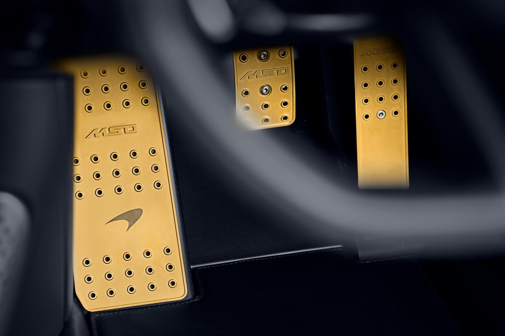 McLaren Speedtail pedals