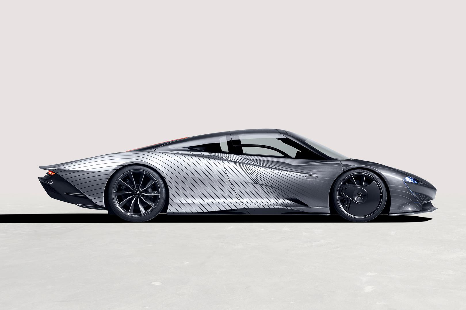 McLaren Speedtail side