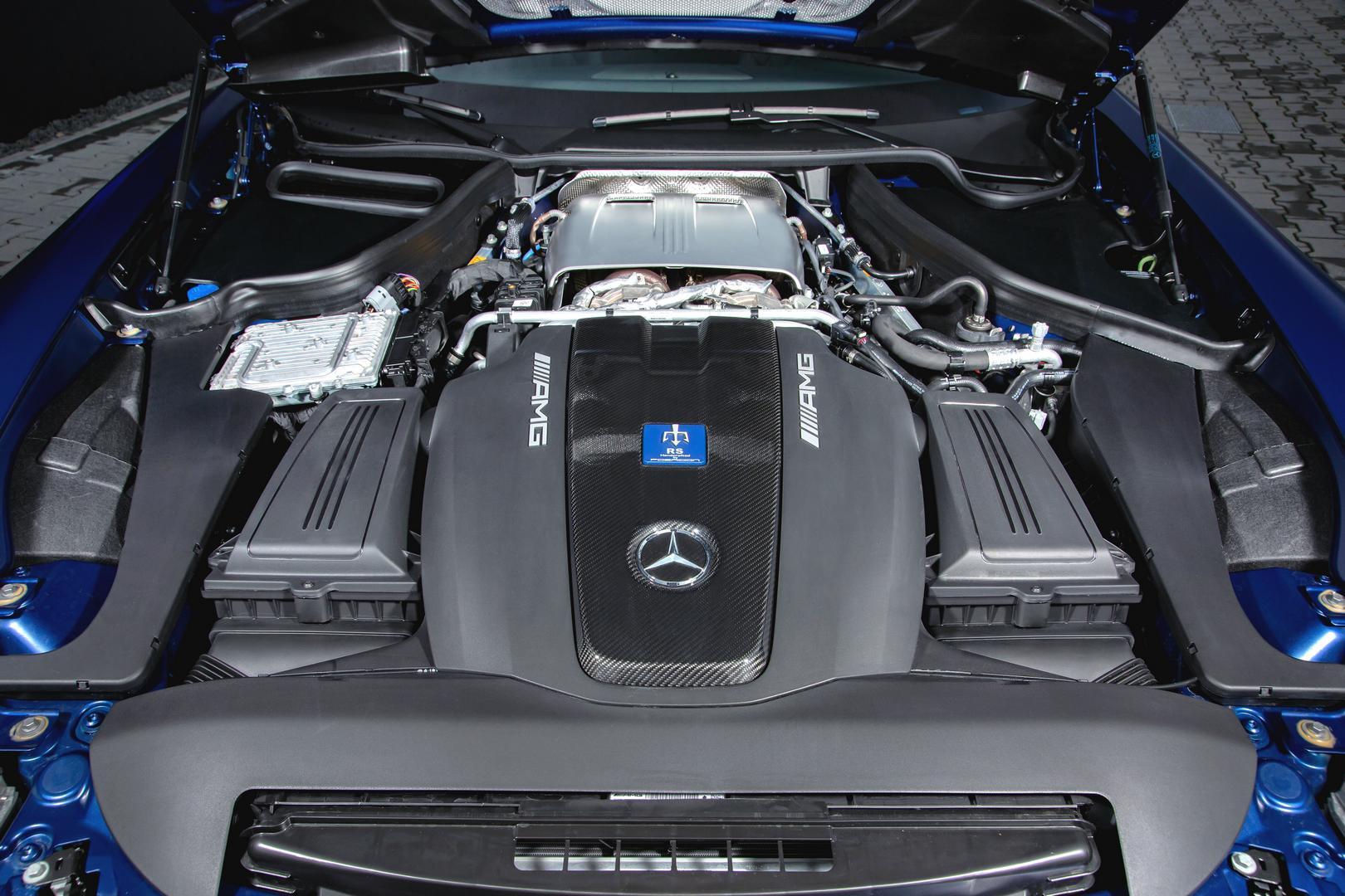 Mercedes-AMG GT R Roadster front engine