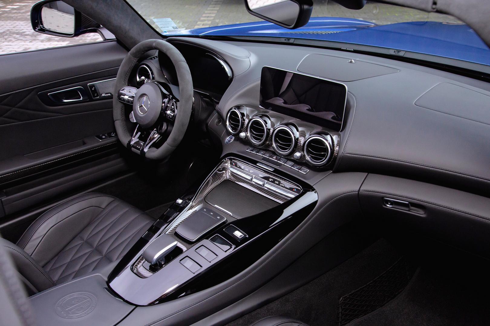 Mercedes-AMG GT R Roadster front interior