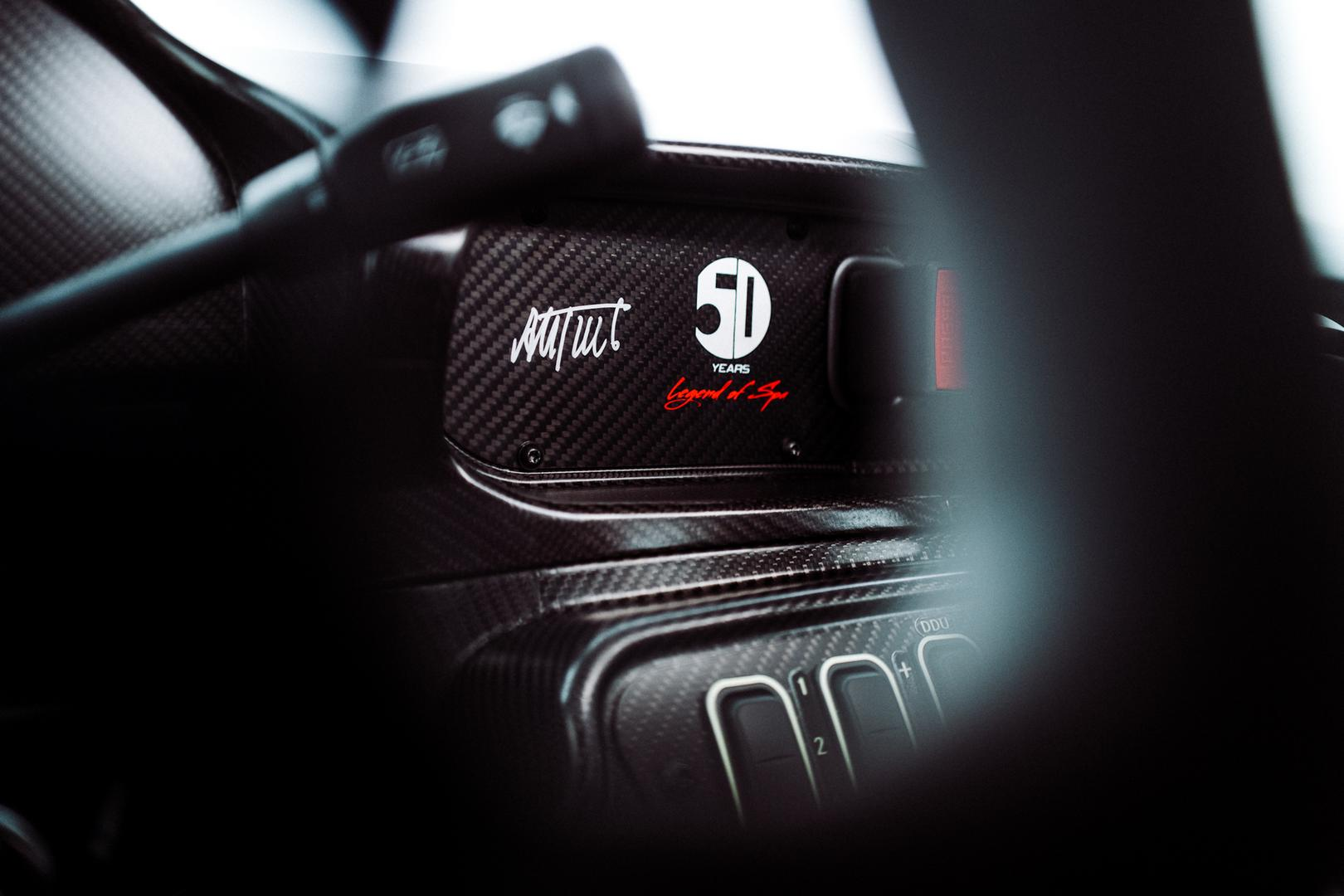 AMG GT3 interior