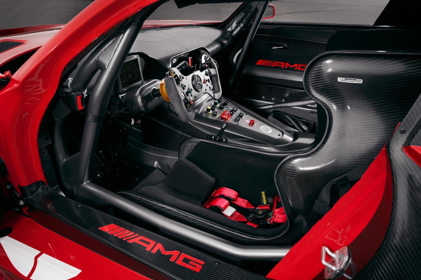 AMG GT3 racing seat