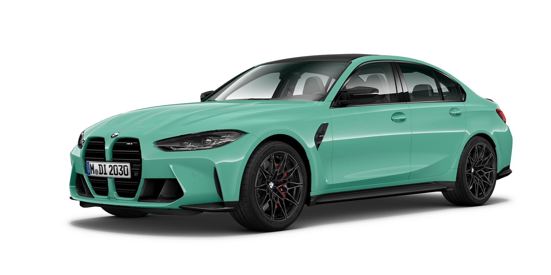 Mint Green BMW M3 CP