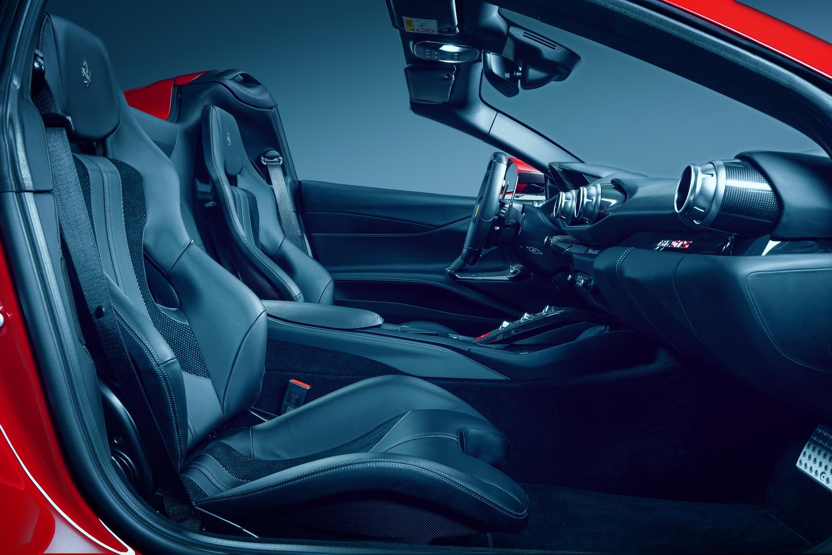 Novitec N-Largo Ferrari 812 GTS interior
