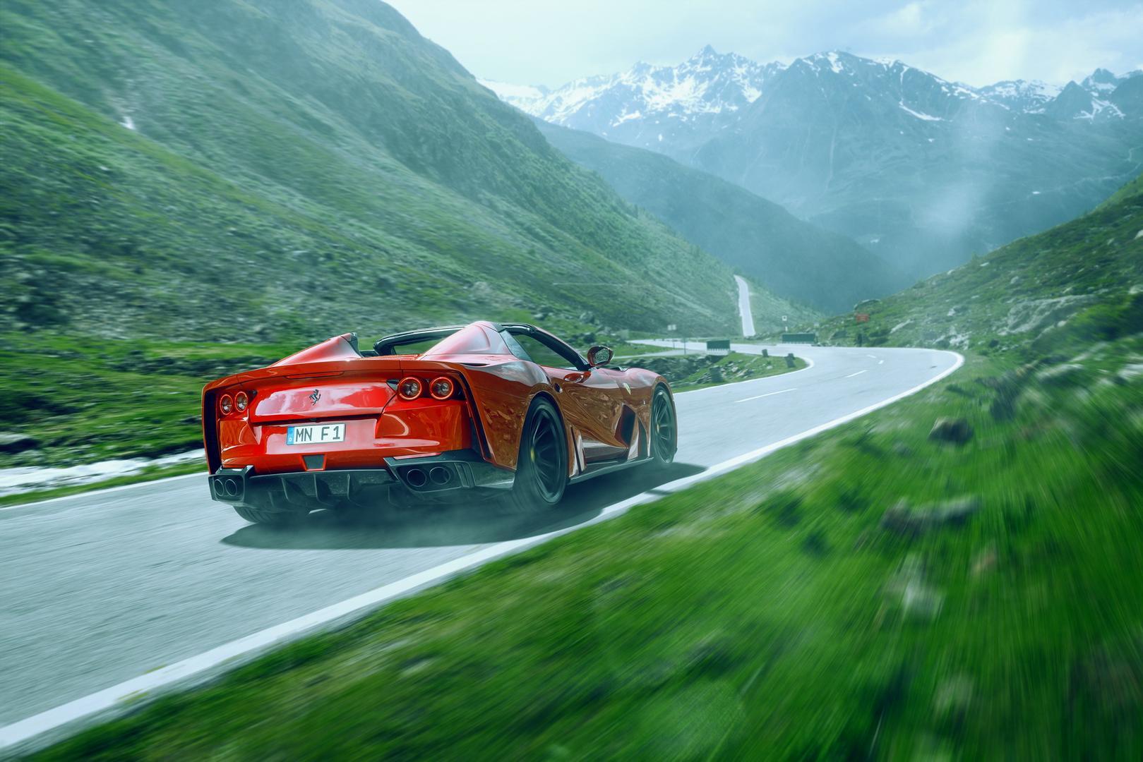 Novitec N-Largo Ferrari 812 GTS specs