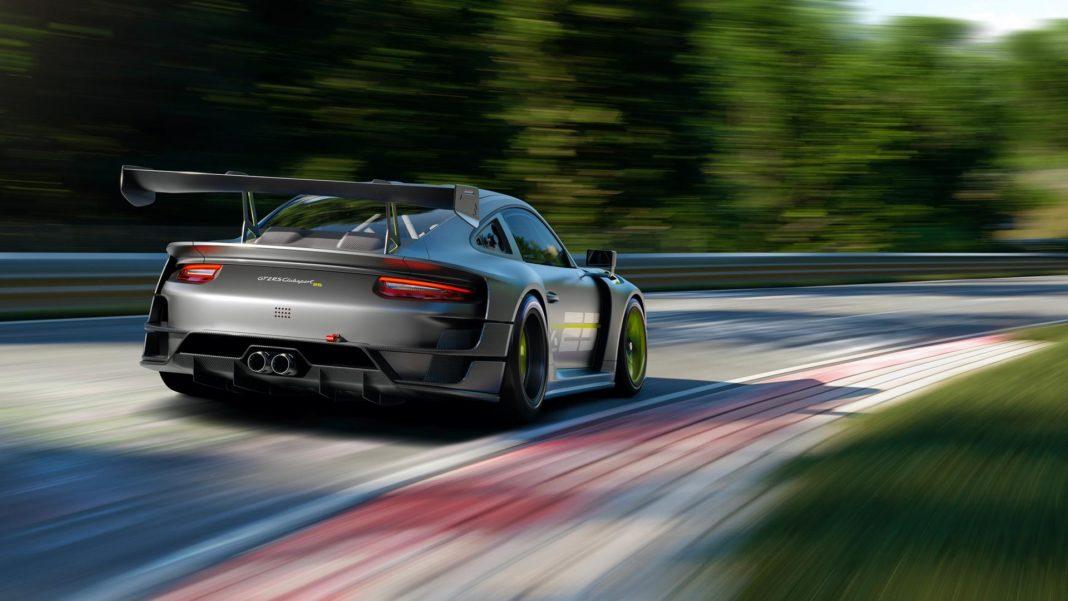 Porsche 911 GT2 RS Clubsport 25 rear