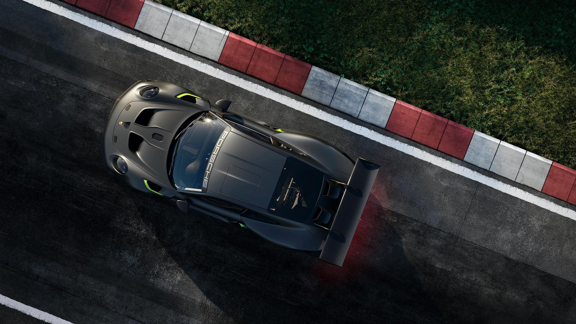 Porsche 911 GT2 RS Clubsport 25 roof