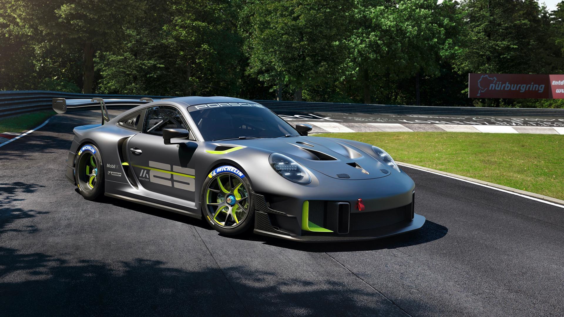 Porsche 911 GT2 RS Clubsport 25 specs
