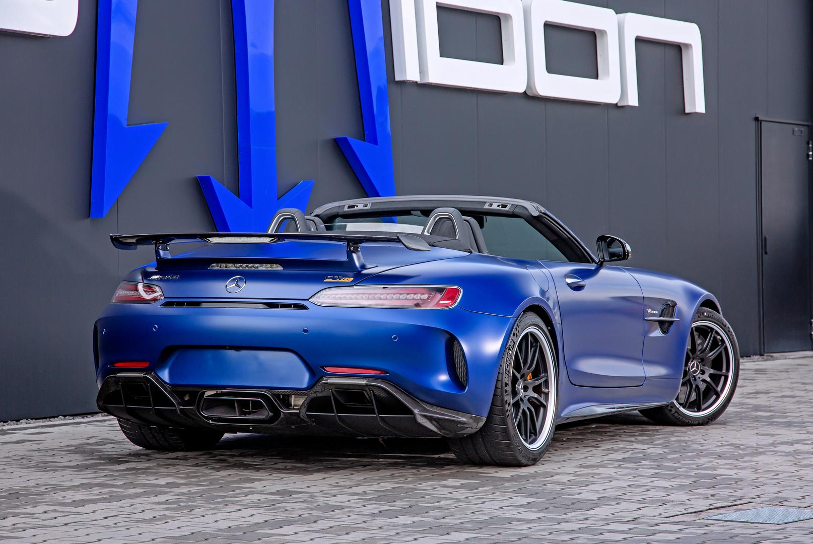 Posaidon Mercedes-AMG GT R Roadster rear