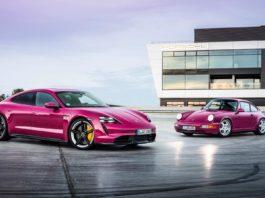 Rubystone Porsche Taycan