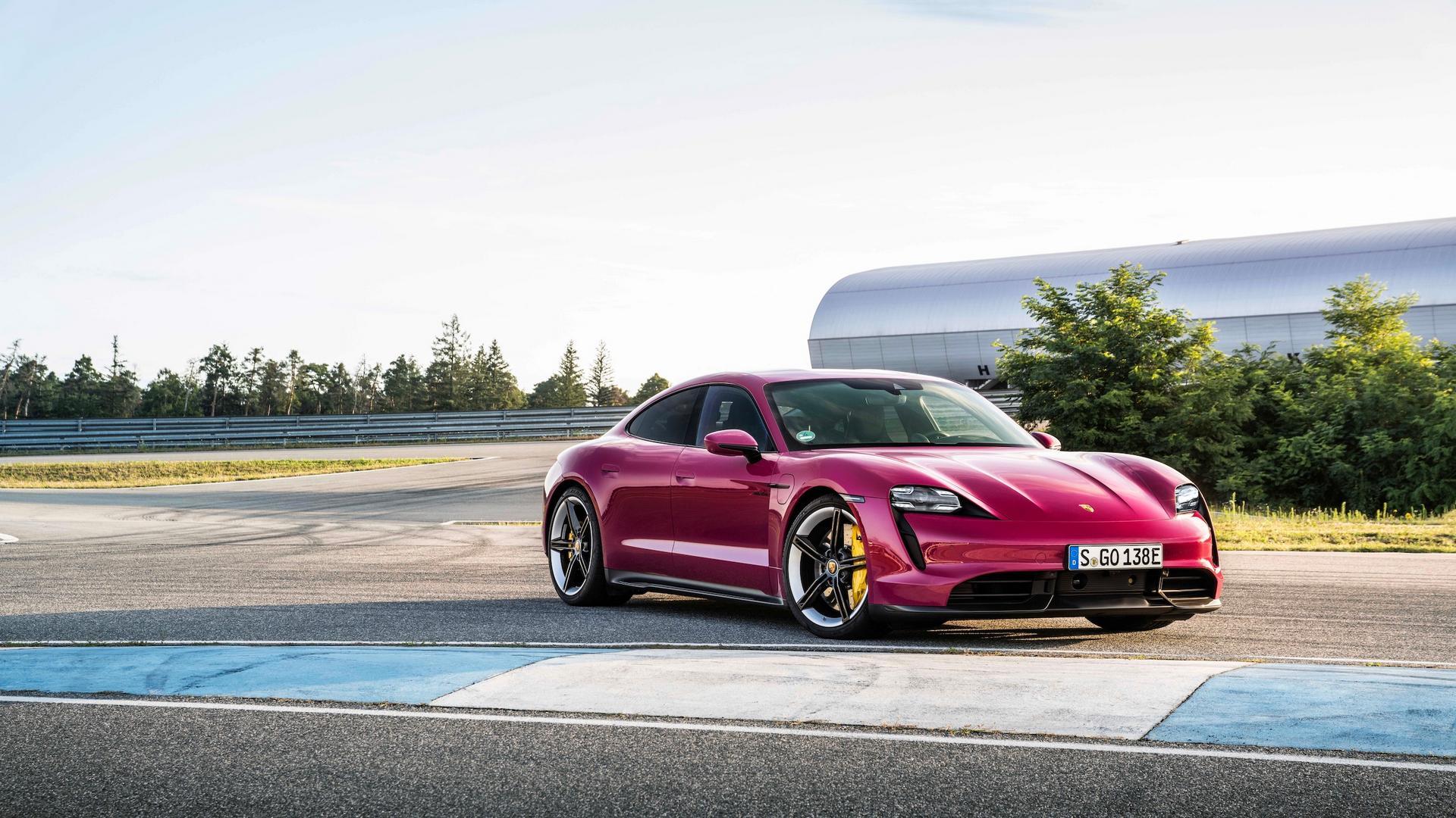 Rubystone Porsche Taycan specs
