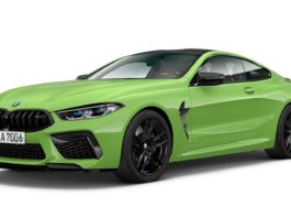 Signal Green BMW M8 Coupe CP