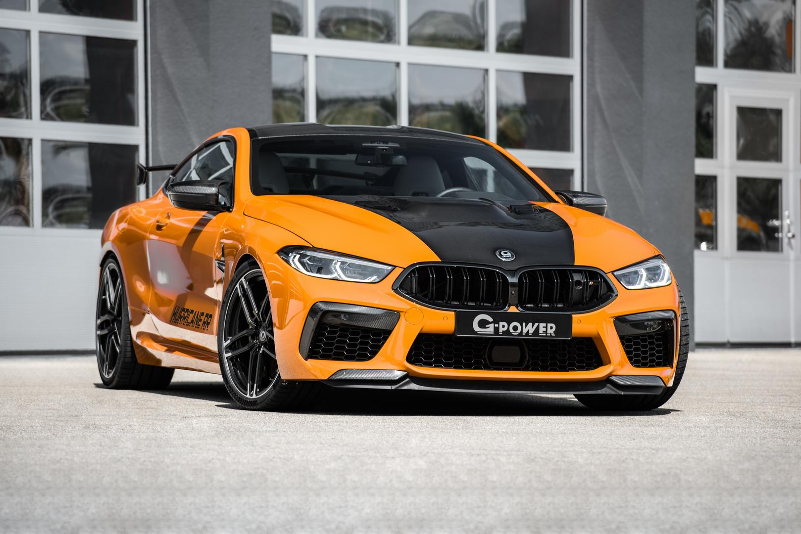 Tuned BMW M8
