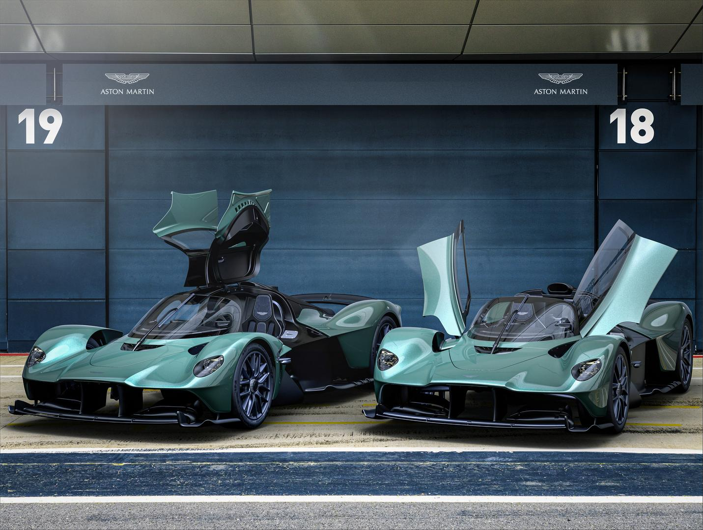 Aston Martin Valkyrie Spider to Cost $3.8 Million – 85 Cars Worldwide