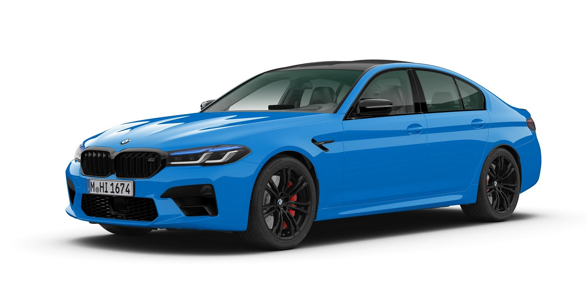 Voodoo Blue BMW M5 CP
