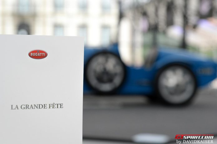 Bugatti 110th Anniversary