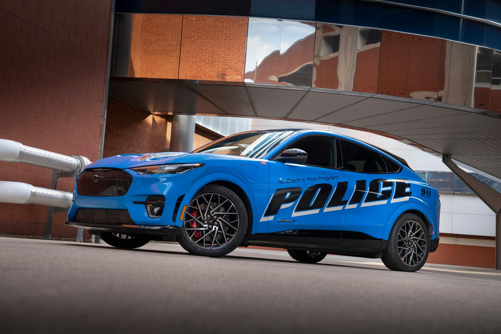 Ford Mustang Mach E Police