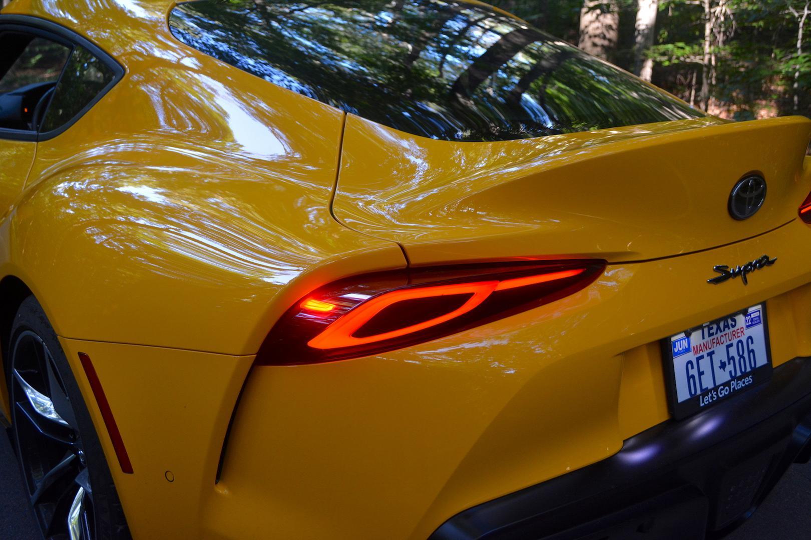 2021 Toyota GR Supra taillight