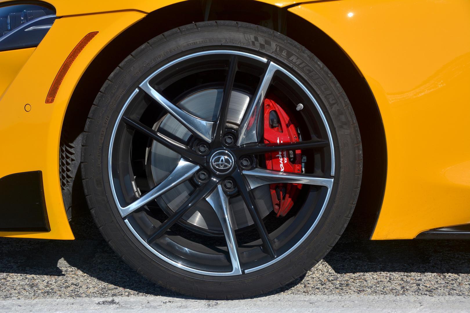 2021 Toyota GR Supra wheels