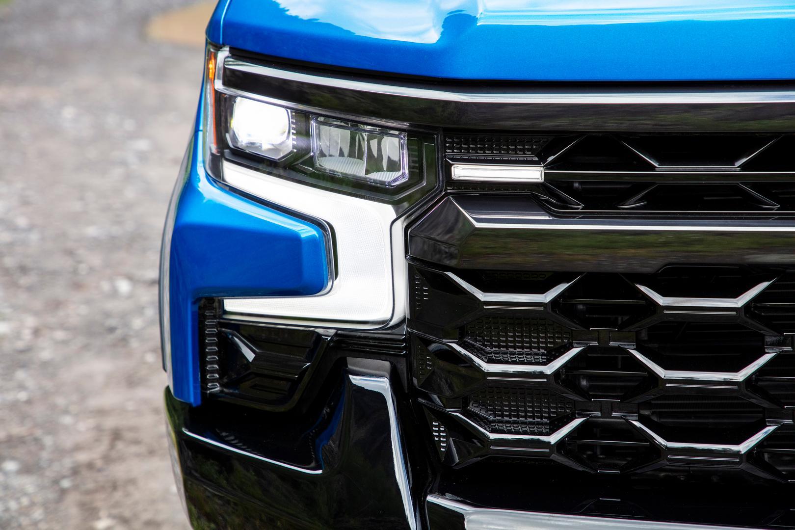 2022 Silverado ZR2 headlights