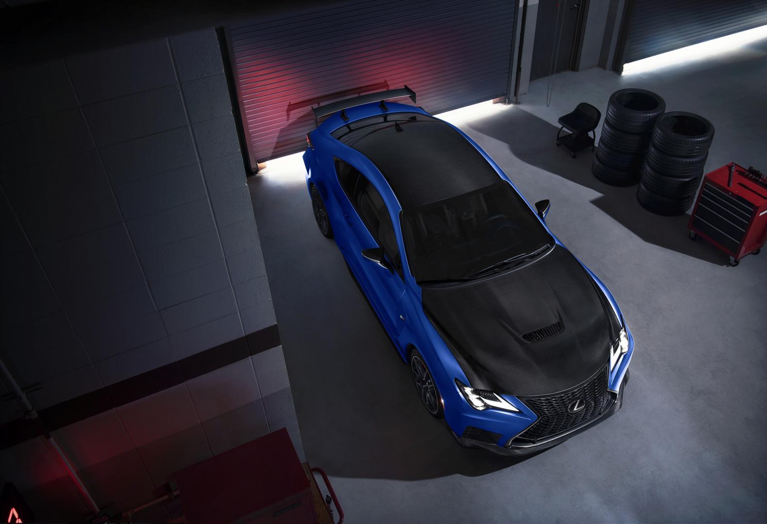 2022 Lexus RC F Fuji Speedway Edition carbon fiber
