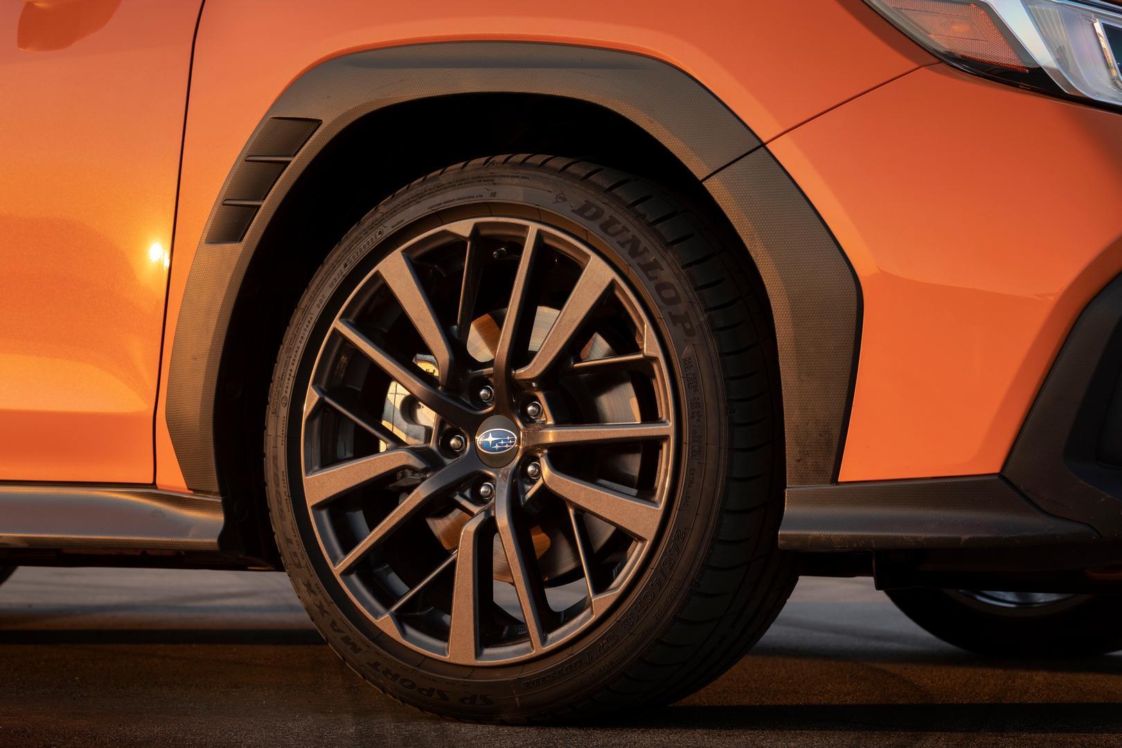 2022 Subaru WRX fender flares
