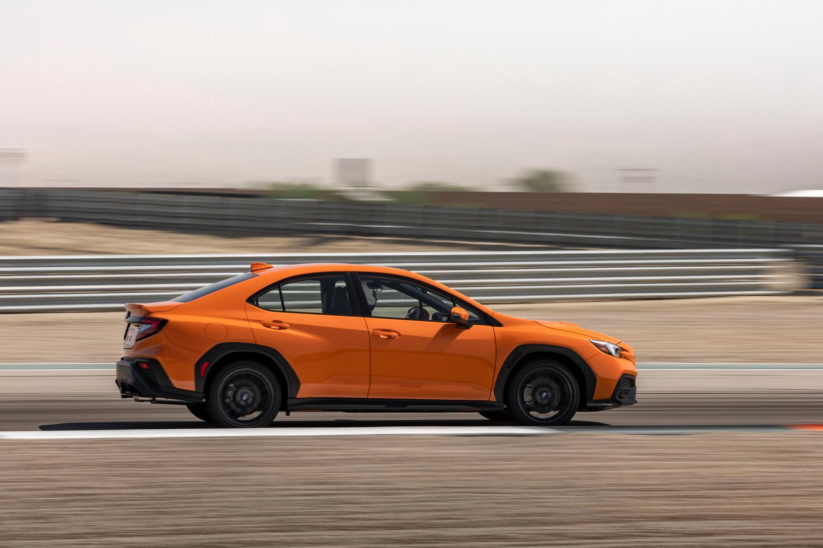 2022 Subaru WRX side