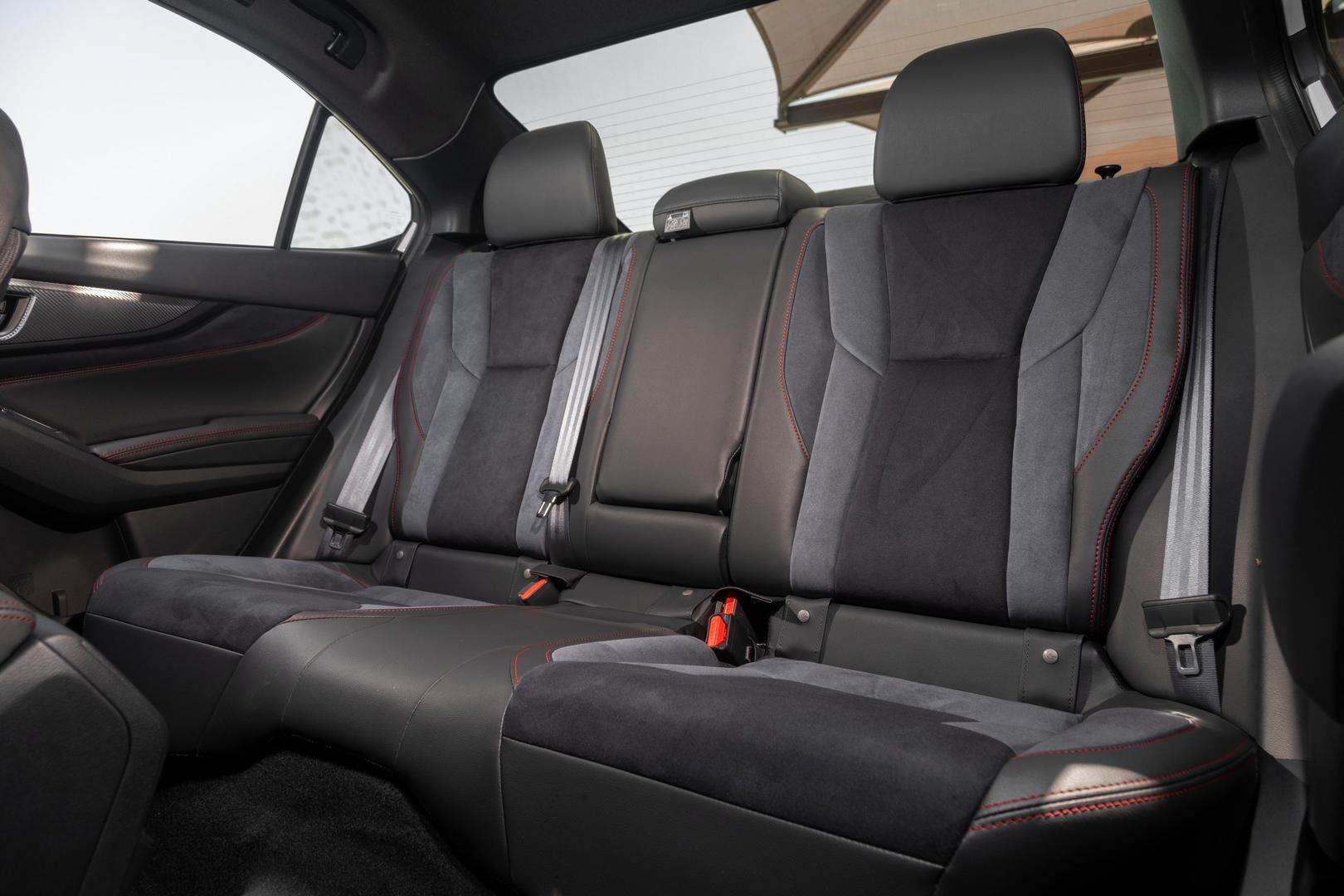 2022 Subaru WRX rear seats