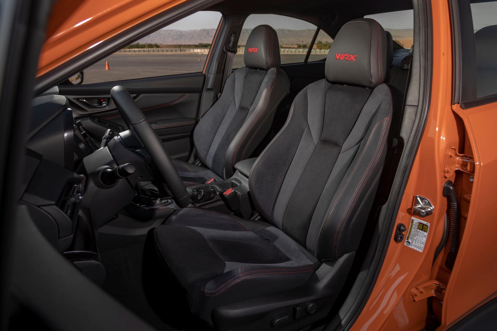 2022 Subaru WRX recaro seats