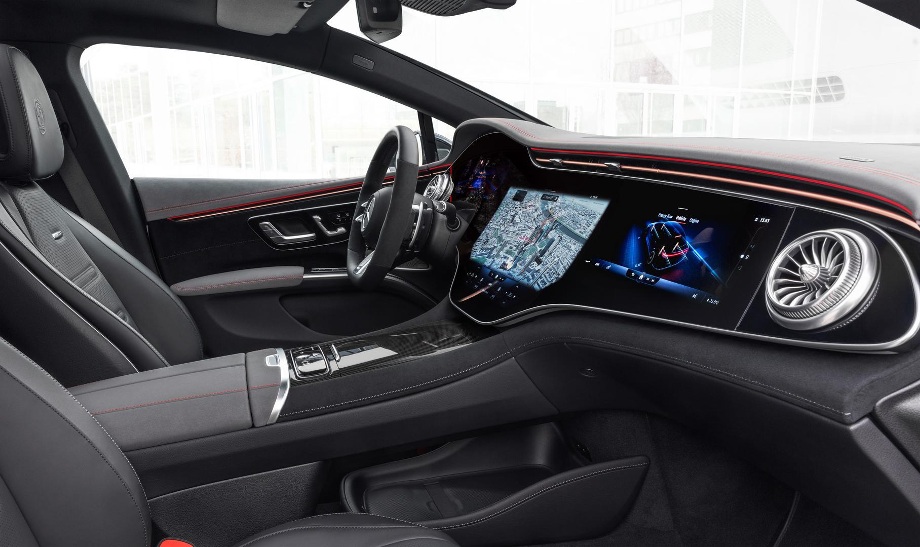 Mercedes-AMG EQS 53 4MATIC+, 2021Mercedes-AMG EQS 53 interior
