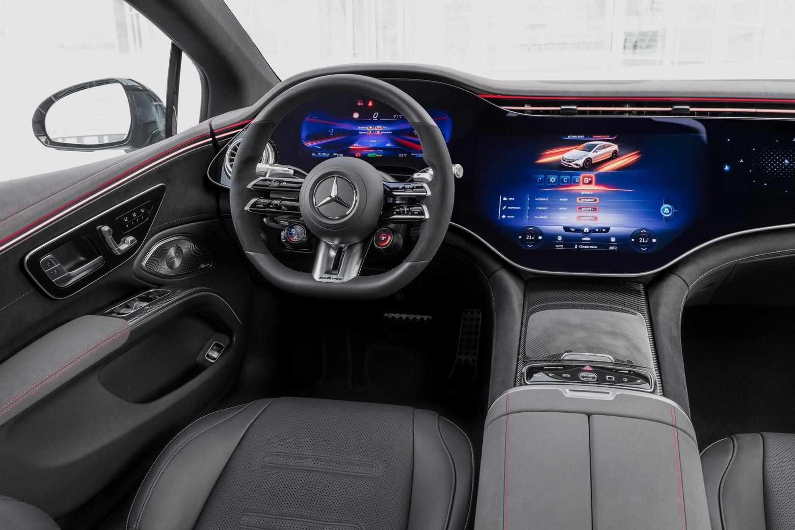 Mercedes-AMG EQS 53 4MATIC+, 2021Mercedes-AMG EQS 53 cabin