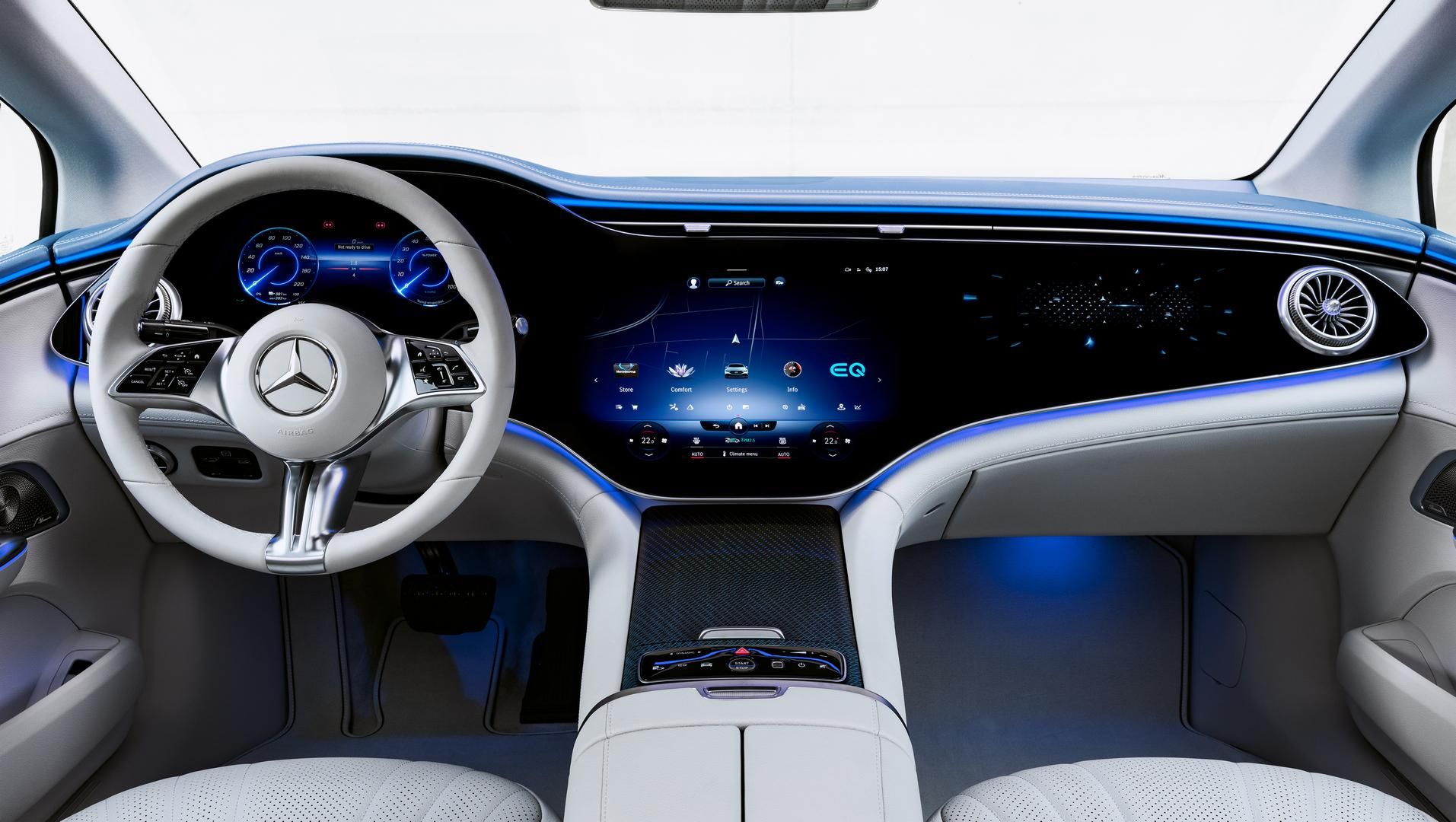 2022 Mercedes-Benz EQE interior
