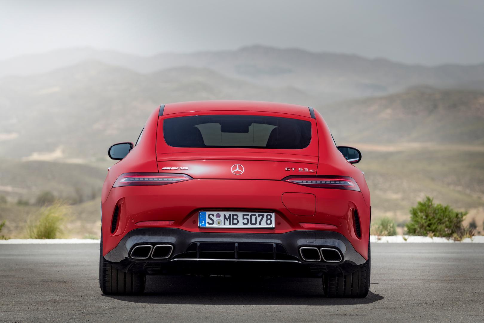 2022 Mercedes-AMG GT 63 S E PERFORMANCE (4MATIC+), 2021Mercedes-AMG GT 63 S E PERFORMANCE rear