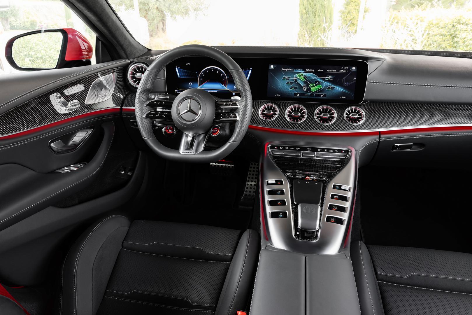 2022 Mercedes-AMG GT 63 S E PERFORMANCE (4MATIC+), 2021Mercedes-AMG GT 63 S E PERFORMANCE interior