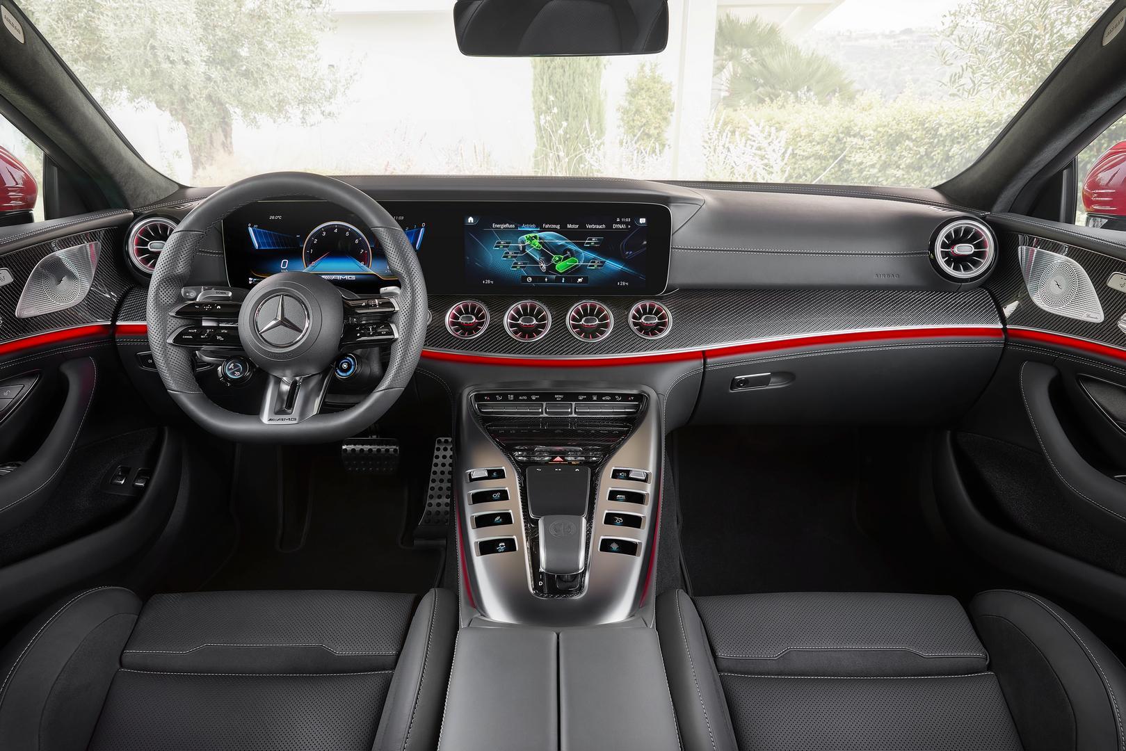 2022 Mercedes-AMG GT 63 S E PERFORMANCE (4MATIC+), 2021Mercedes-AMG GT 63 S E PERFORMANCE cabin