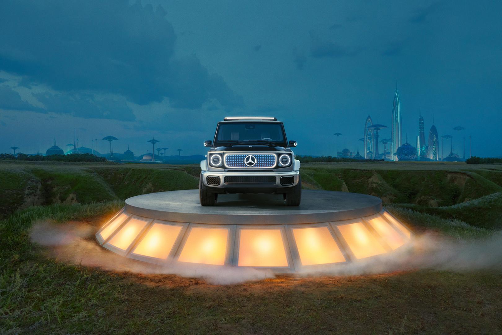 Mercedes-Benz EQG front