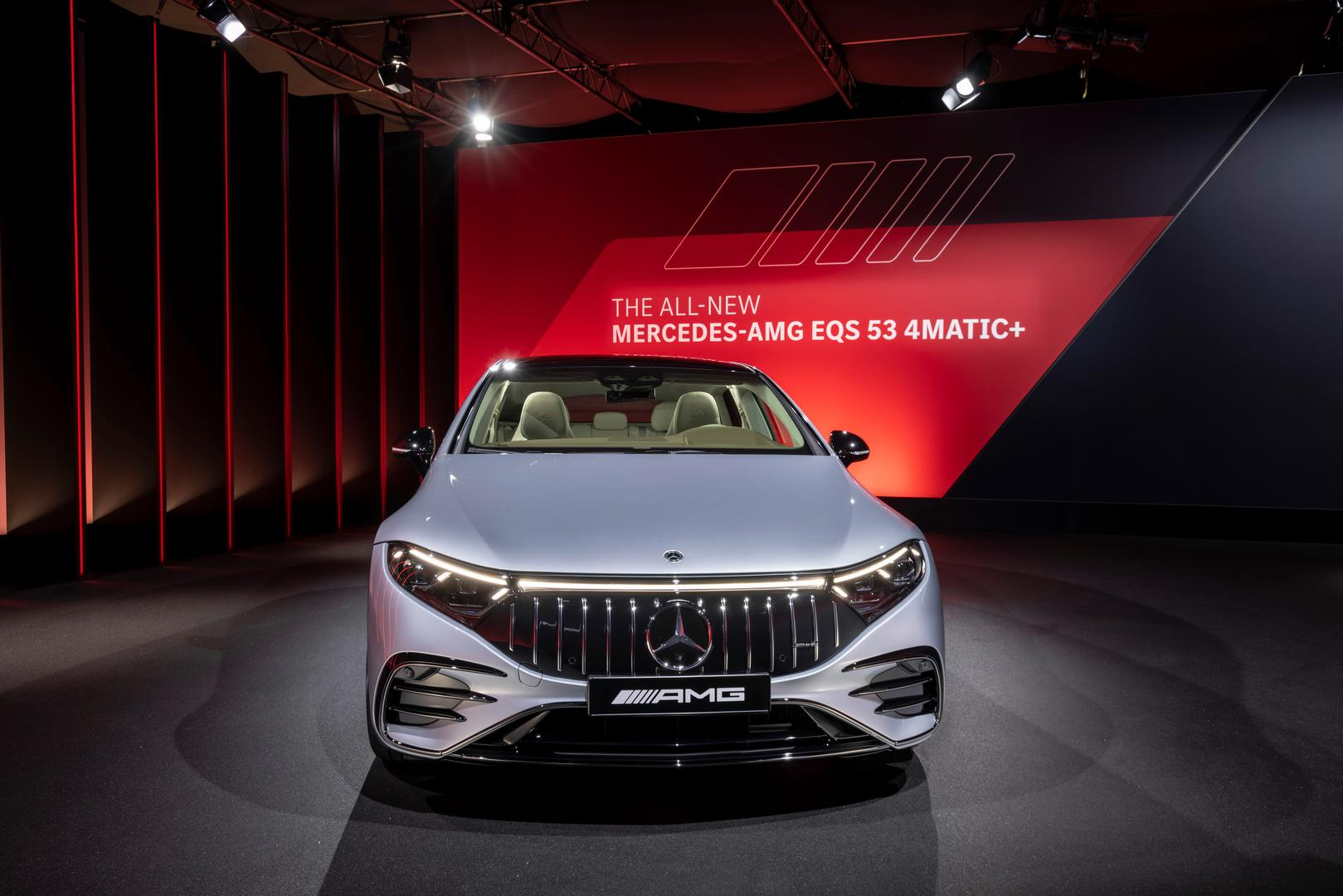 Mercedes-AMG EQS 53 4MATIC+, 2021Mercedes-AMG EQS 53 front