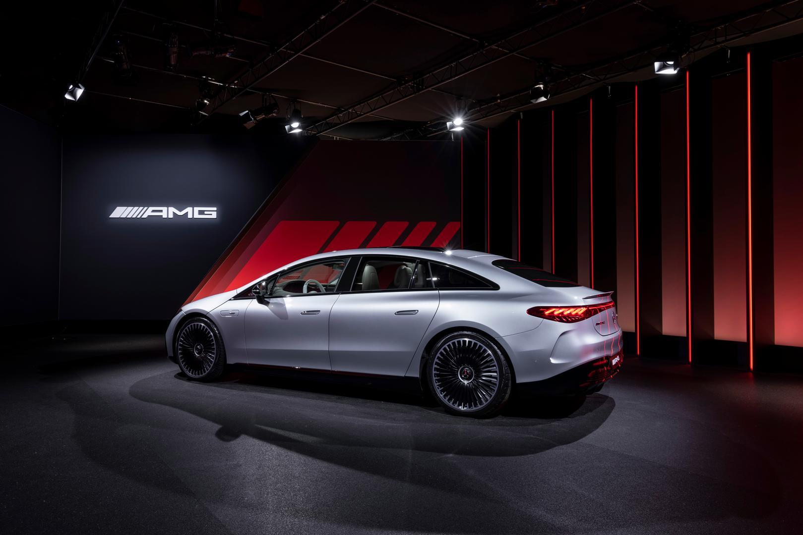 Mercedes-AMG EQS 53 4MATIC+, 2021Mercedes-AMG EQS 53 side