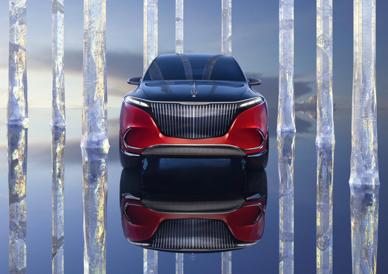 Mercedes-Maybach EQS SUV front