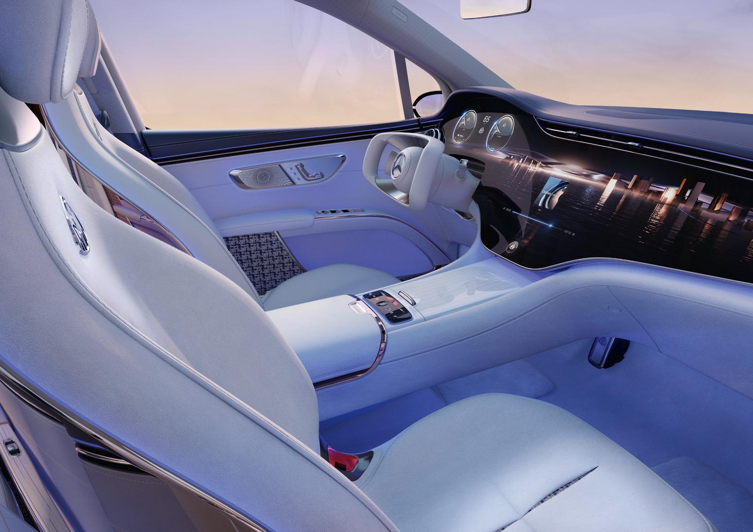 Mercedes-Maybach EQS SUV interior