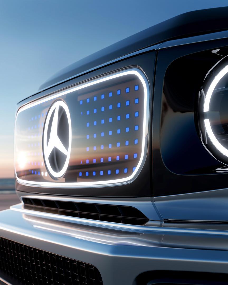 2022 Mercedes-Benz EQG grille